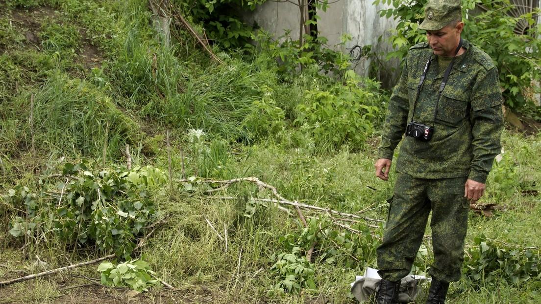 """""""Hinterhältiger Mord"""": Volksrepublik Lugansk beschuldigt die Ukraine der Tötung von fünf Kämpfern"""