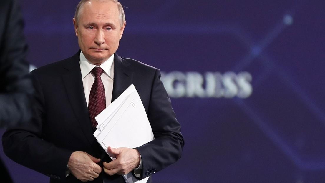 """""""Haben wir Raketen an der mexikanischen Grenze?"""" Putin zieht rote Linien für NATO in der Ukraine"""