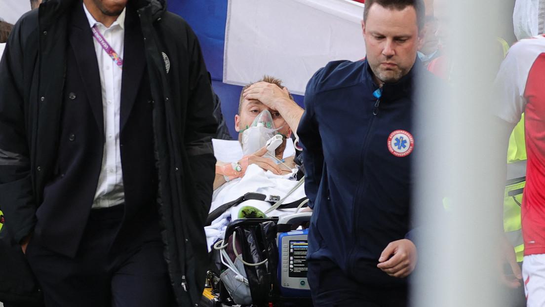 Dänischer Fußballer kollabiert – EM-Vorrundenspiel zeitweilig unterbrochen