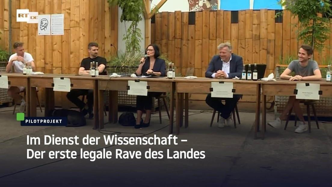 Berlin: Im Dienst der Wissenschaft – Der erste legale Rave des Landes