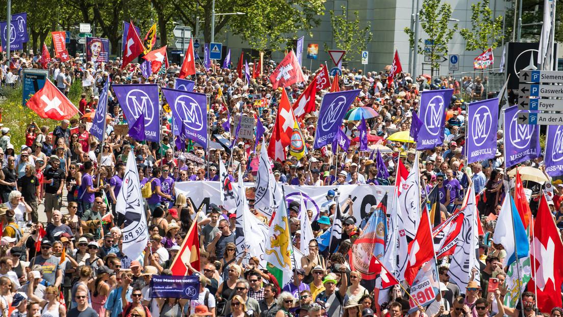 Volksabstimmung: Schweizer stimmen gegen Klimaschutzgesetz und für Corona-Gesetz