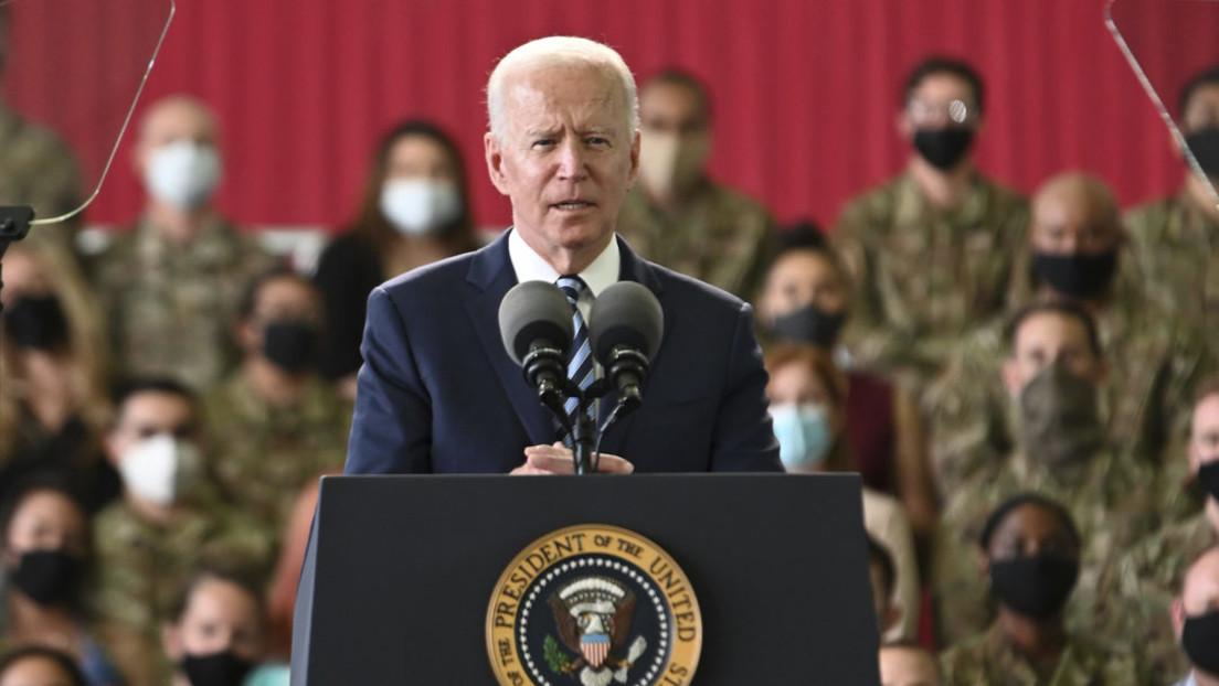 """""""Ich denke, er hat Recht"""" – US-Präsident Biden über Putins Aussage zum Beziehungsstatus"""