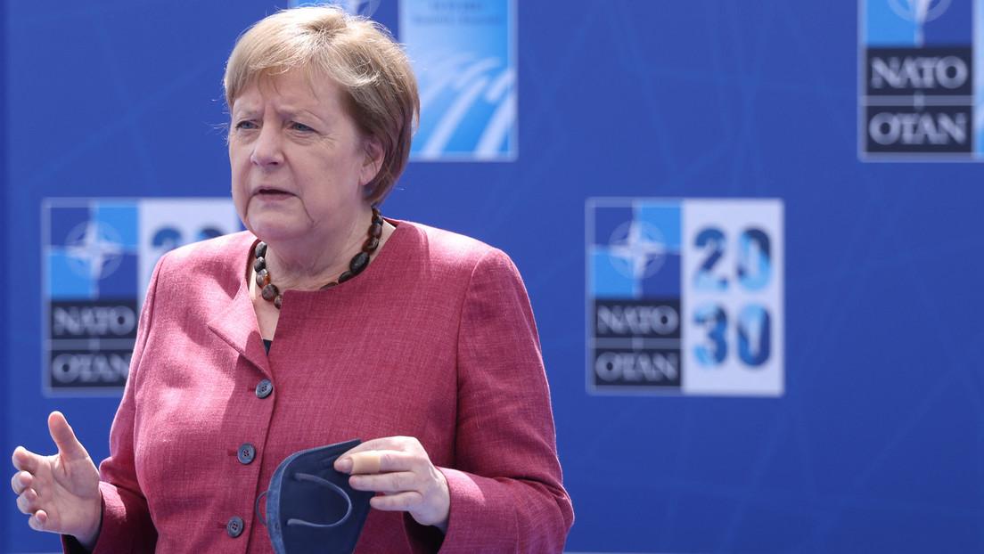 """Merkel unterstützt neues NATO-Konzept 2030: """"Gibt eine Antwort auf all die Herausforderungen"""""""