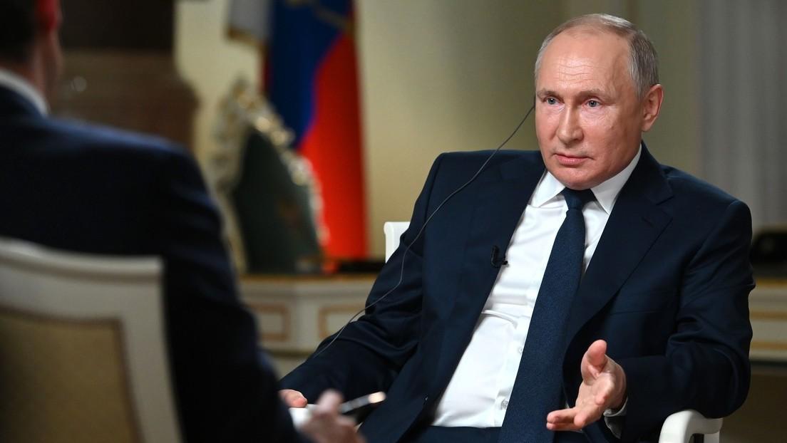 """Putin zum angeblichen Mordbefehl gegen Nawalny: """"Haben nicht die Angewohnheit, jemanden zu töten"""""""