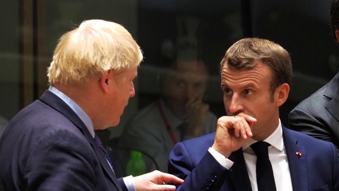 Mon Dieu: Boris Johnson erlaubt sich Scherz auf Kosten von Emmanuel Macron