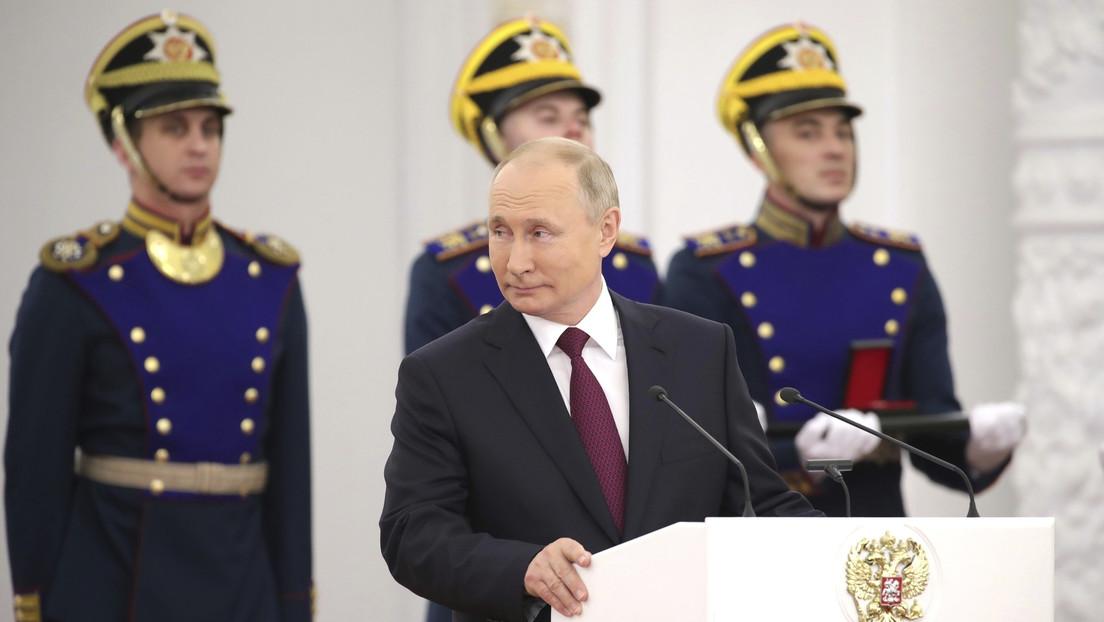 """""""Warum muss alles einstürzen?"""": Putin über Russland """"nach Putin"""""""