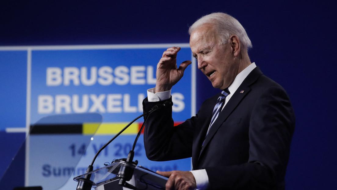 """Biden bei NATO-Gipfel: Killer-Kommentar """"nicht so wichtig"""" für bevorstehendes Treffen mit Putin"""