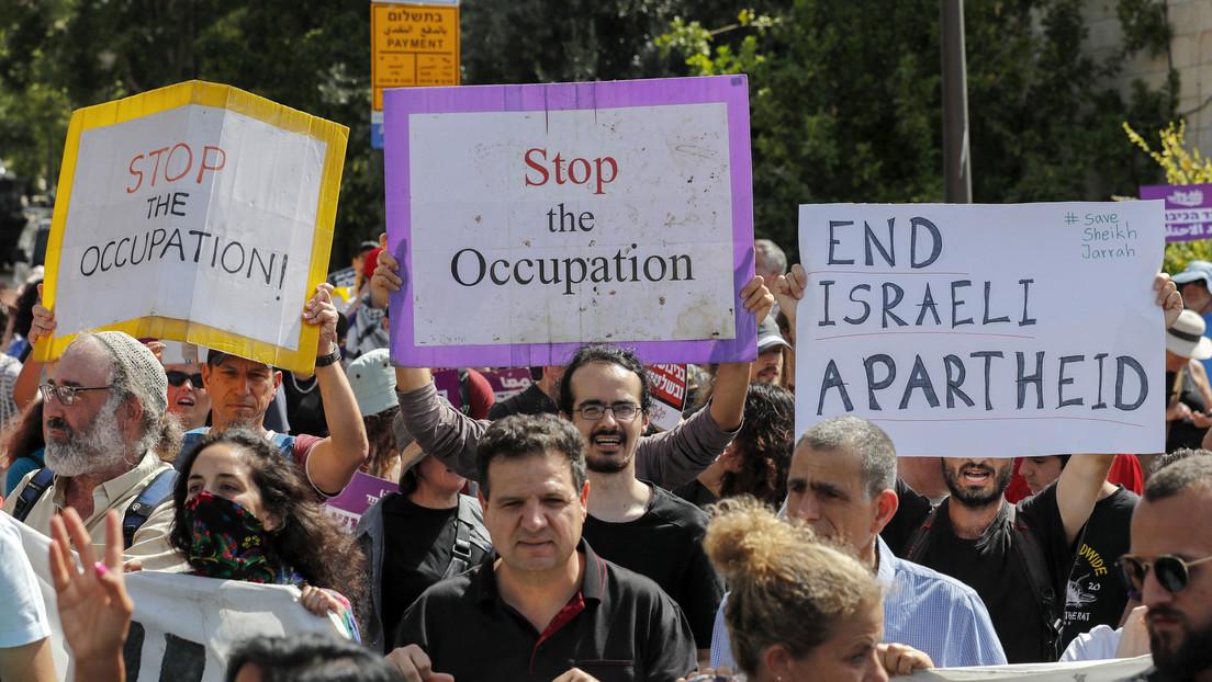 Flaggenmarsch: Radikale Siedler marschieren durch palästinensische Viertel in Ostjerusalem