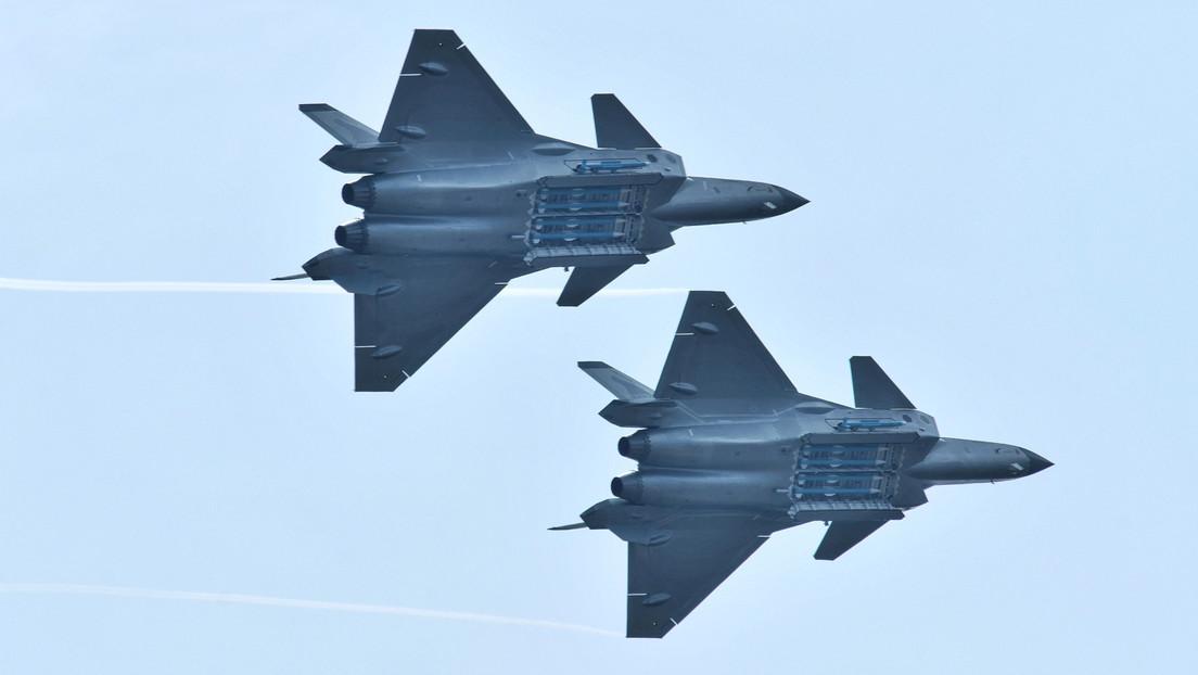 Nach G7-Abschlusserklärung: China schickt 28 Kampfflugzeuge in Richtung Taiwan