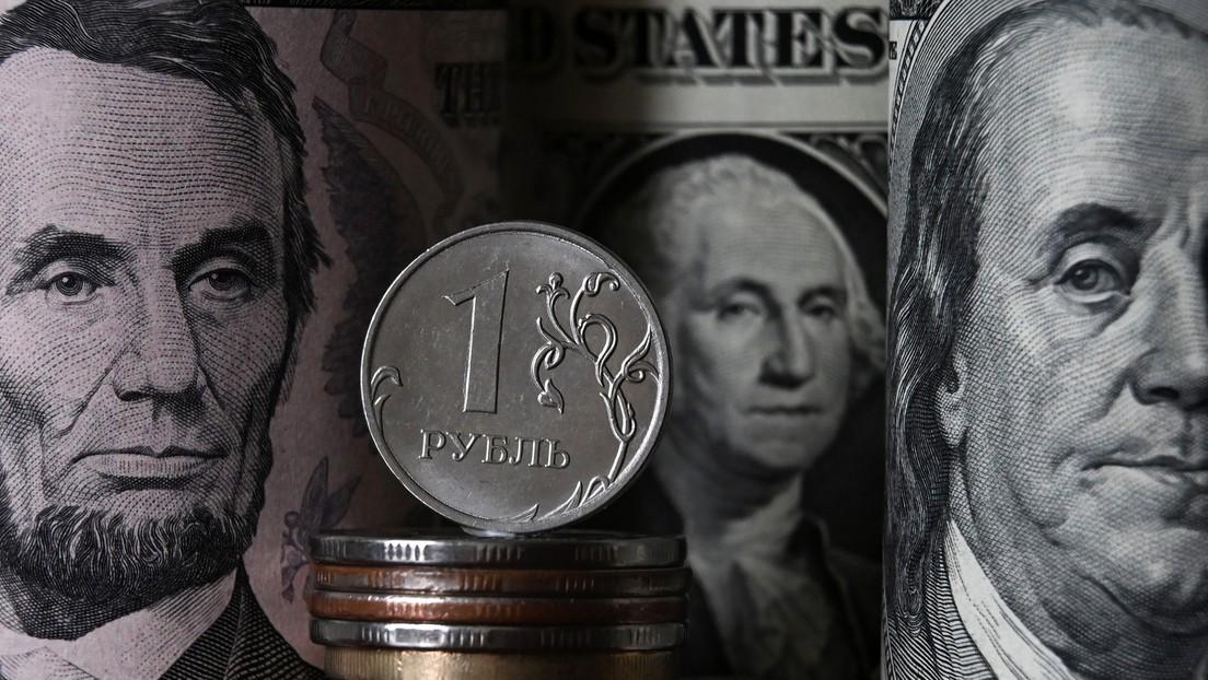 Als Folge der Entdollarisierung: Rubel steigt auf Elf-Monats-Hoch