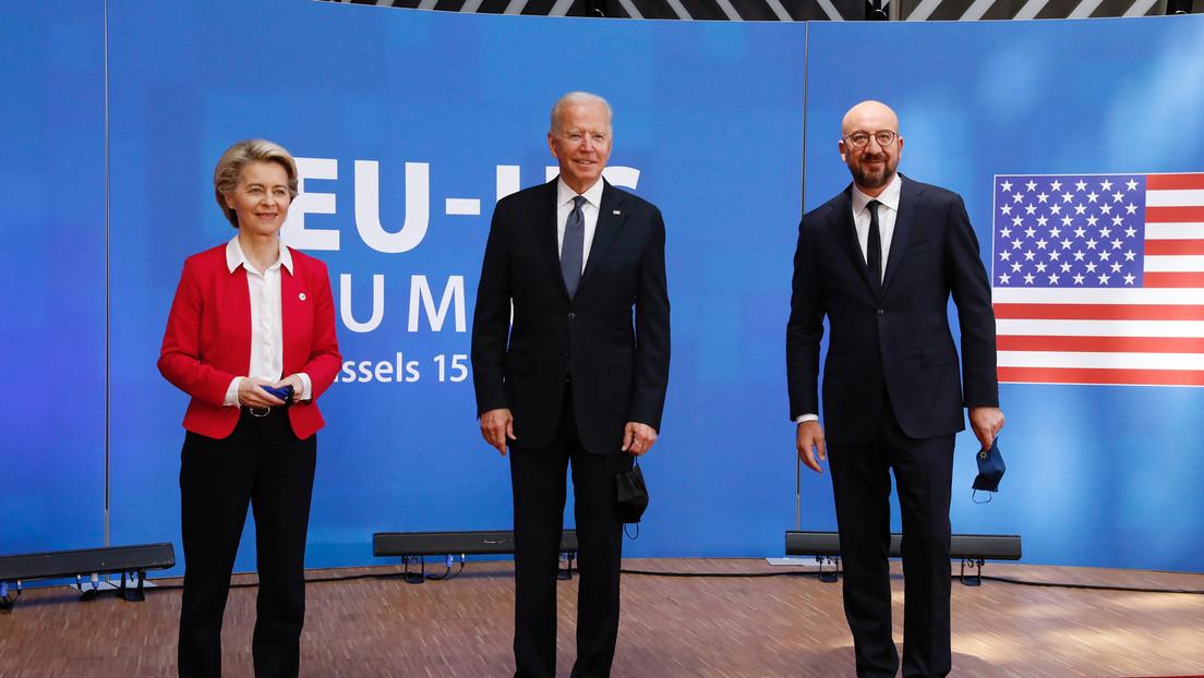 """Peking kritisiert gemeinsame Erklärung der USA und EU: """"Das chinesische Volk hat sich erhoben"""""""