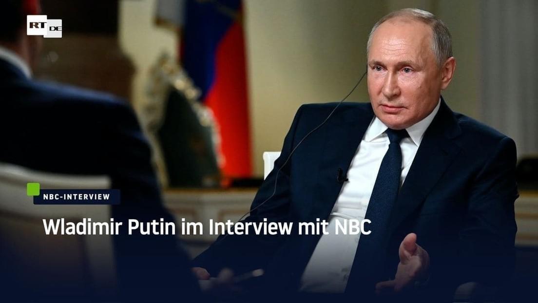 Komplettes Interview: Wladimir Putin im Gespräch mit NBC