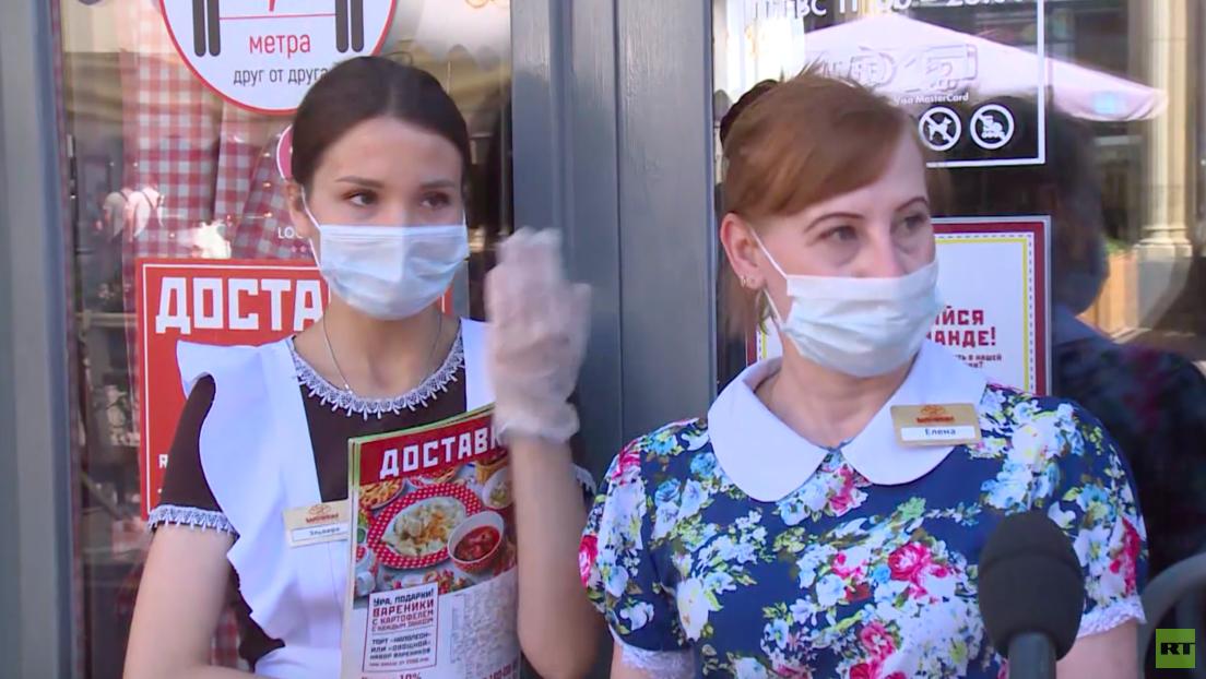 Moskau: Reaktion der Einwohner auf Impfpflicht