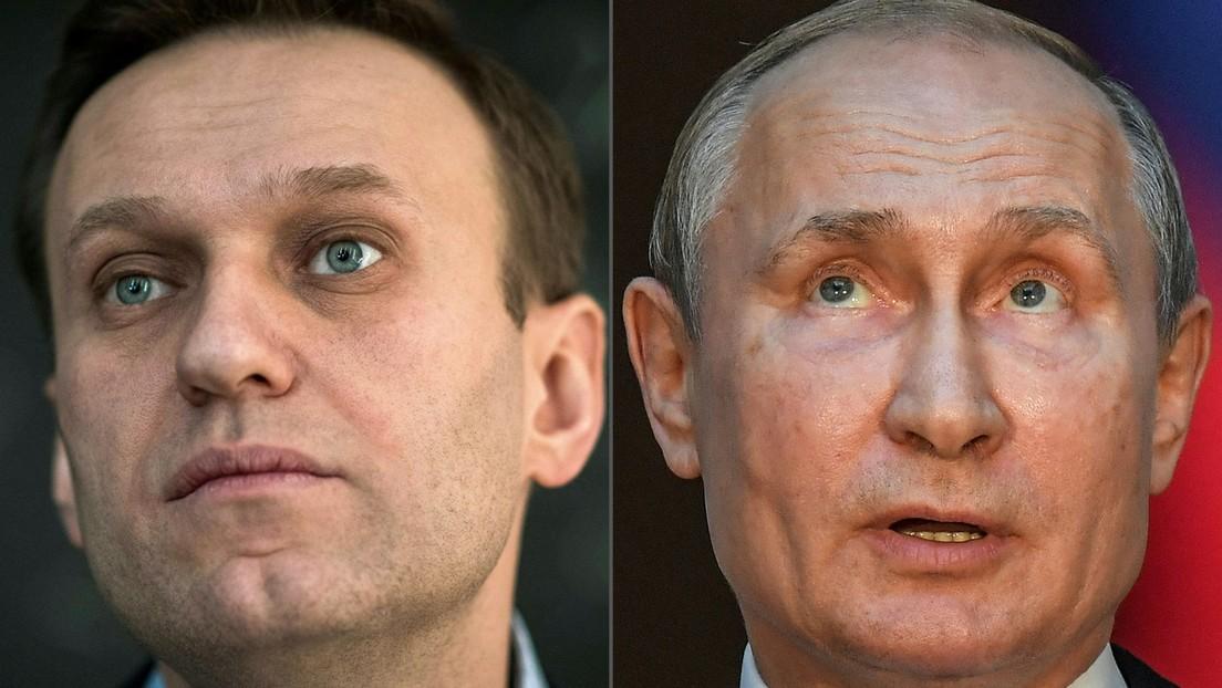 Putin über Nawalny: Der Mann wusste, dass er vorsätzlich gegen Gesetze verstößt