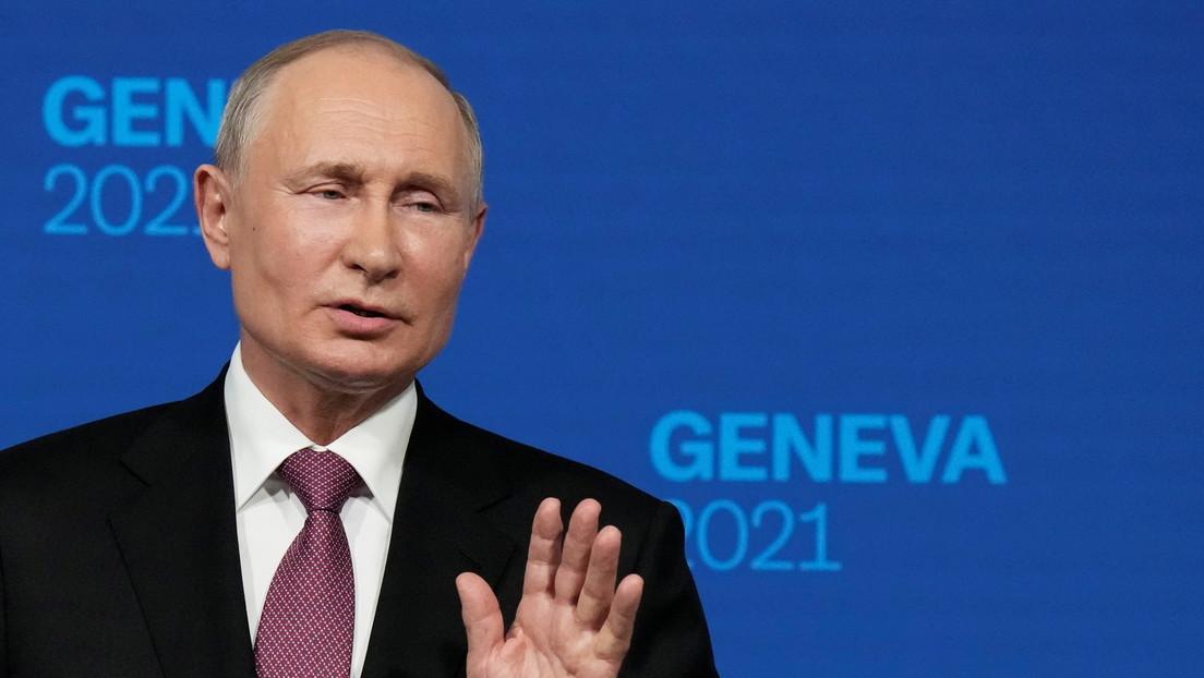 Putin nennt Förderung von Minsk II die einzige russische Verpflichtung in Bezug auf Ukraine
