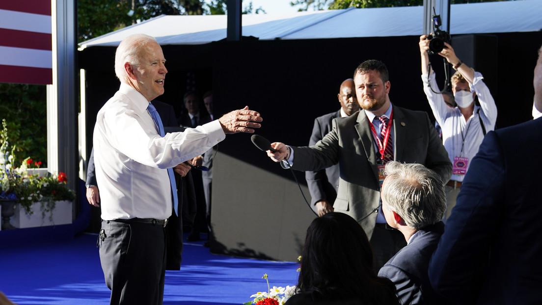 """Biden rügt nach dem Gipfel mit Putin CNN-Reporterin: """"Sie sind im falschen Geschäft"""""""