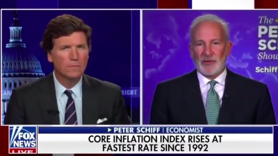 """US-Wirtschaftsexperte Peter Schiff: """"Die US-Notenbank hat bereits die Kontrolle verloren"""""""