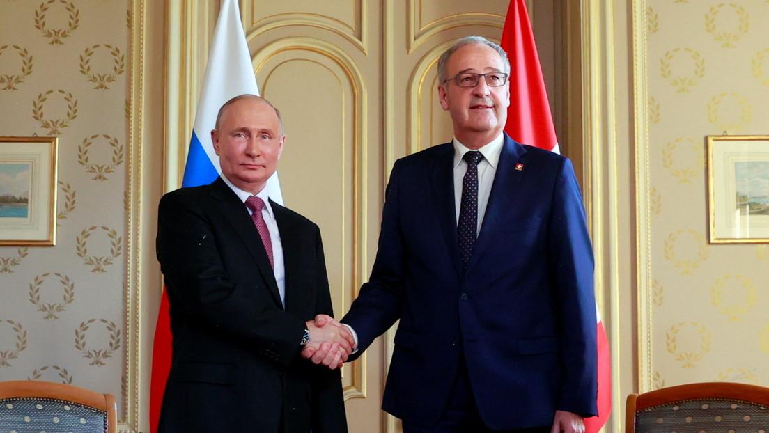 Schweizer Bundespräsident schätzt Putins Offenheit