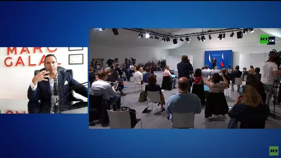 Experten analysieren für RT Sprache und Körperhaltung von Putin und Biden in Genf