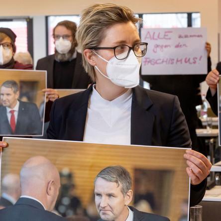 Thüringer Ministerpräsidentenwahl 2020 wird vom Verfassungsgericht überprüft