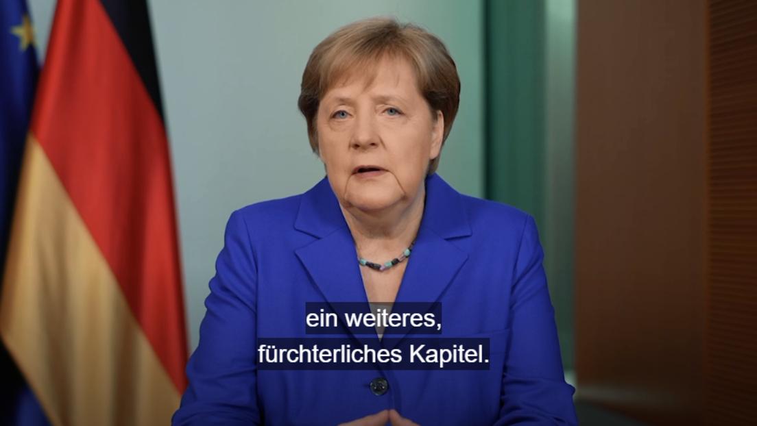 """Merkel: Jahrestag des Überfalls auf Sowjetunion """"Anlass für Scham"""" – Kritik an Russland"""