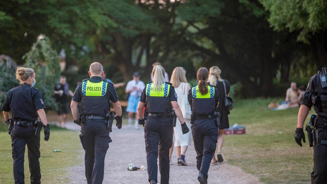 Polizeieinsätze nach Massenpartys mit Tausenden Menschen in mehreren deutschen Städten