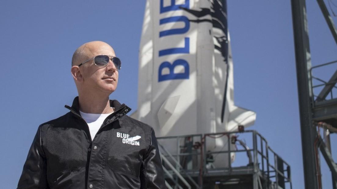 Petition will Rückkehr von Jeff Bezos aus dem All verbieten