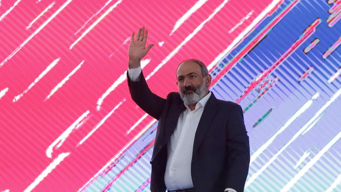 Armenien: Partei von Regierungschef Paschinjan erringt Erdrutschsieg