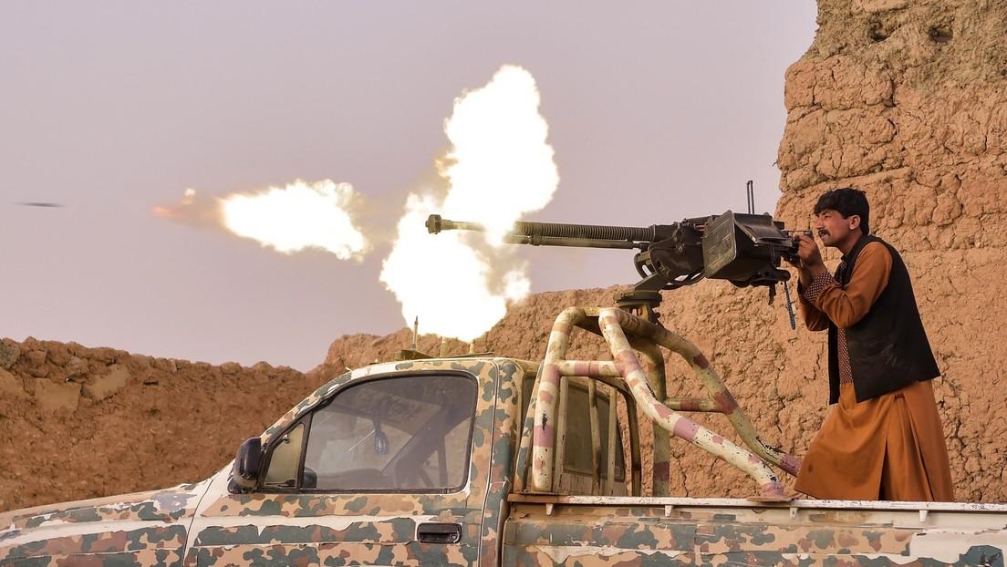 Zivilisten greifen zu Waffen: Taliban wollen Gebiete in Afghanistan überrennen