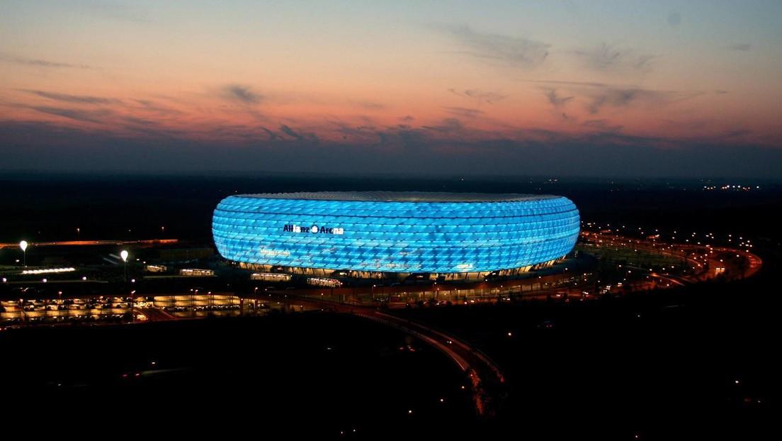 UEFA untersagt Münchner Stadion Nutzung von Regenbogenfarben