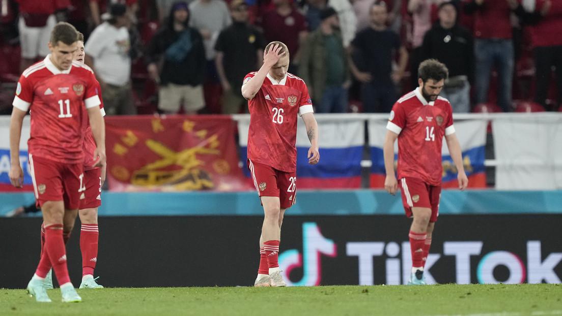 Fußball-EM: Aus für Russland nach 1:4 gegen Dänemark