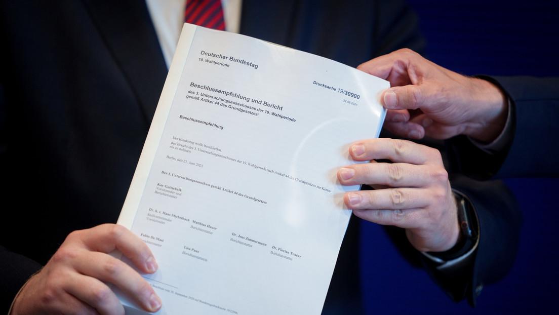 LIVE: Untersuchungsausschuss legt Abschlussbericht des Wirecard-Skandal vor II