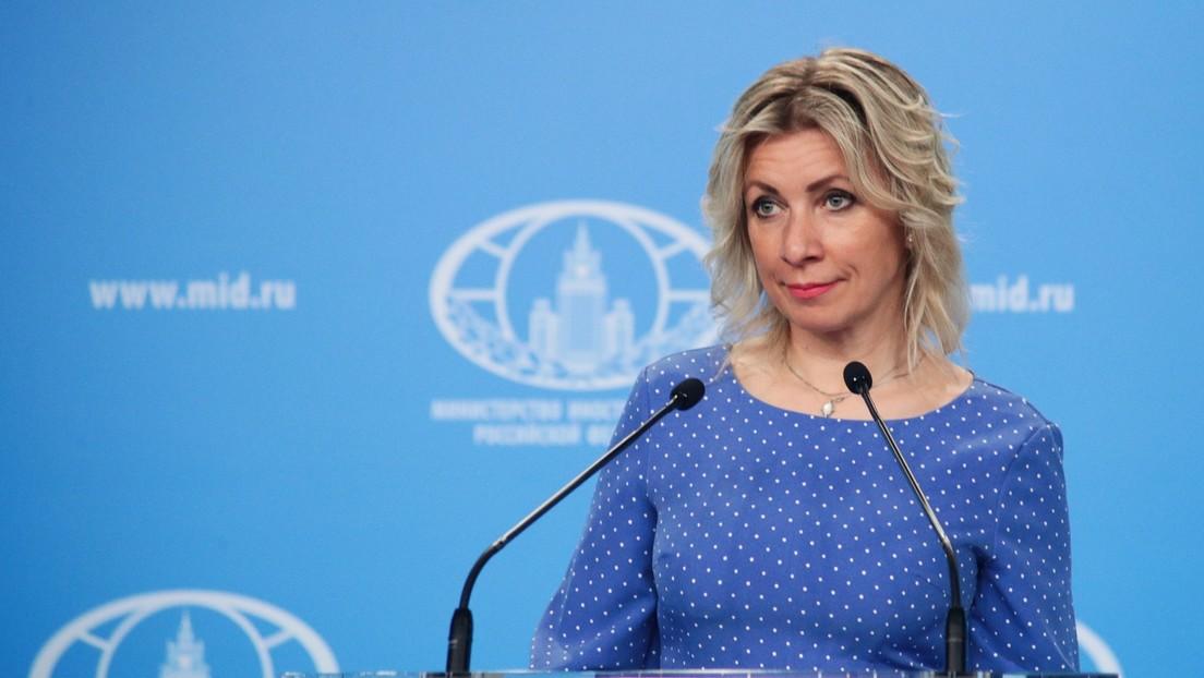 Sacharowa rügt russophobe Doppelstandards der OSZE-Chefin zur Pressefreiheit in Ukraine und Lettland