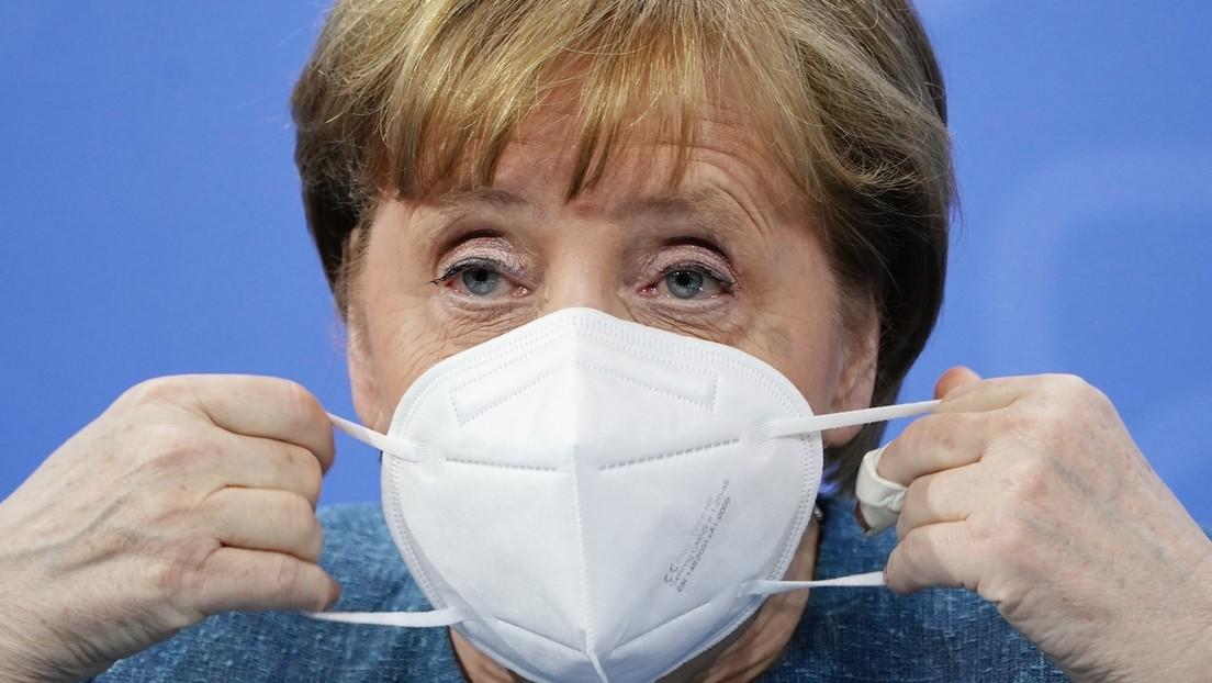 "Wegen Delta-Variante: Merkel warnt vor ""voll besetzten"" EM-Stadien"