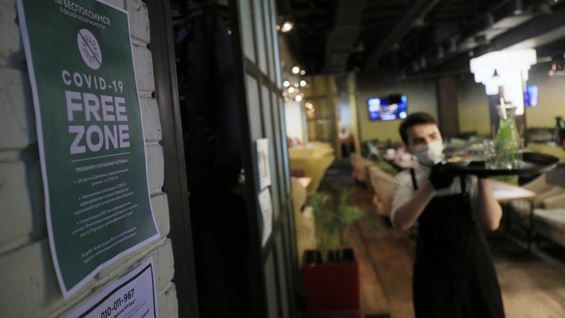 Moskau führt neue Corona-Beschränkungen für die Gastronomie ein
