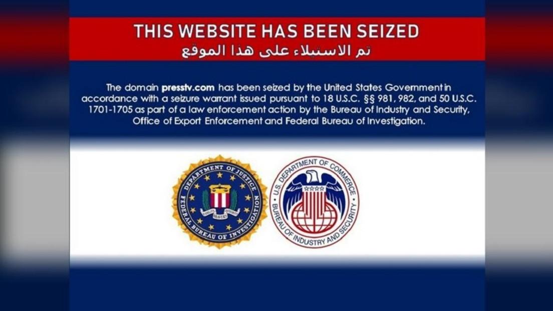"""US-Behörden """"beschlagnahmen"""" Webseite des iranischen Auslandsfernsehsenders PressTV"""