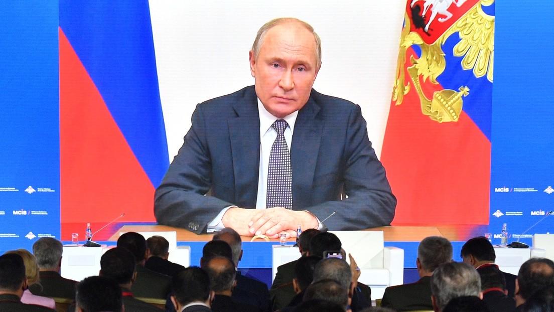 Putin: NATO lehnt unsere Vorschläge zur Deeskalation der Spannungen ab