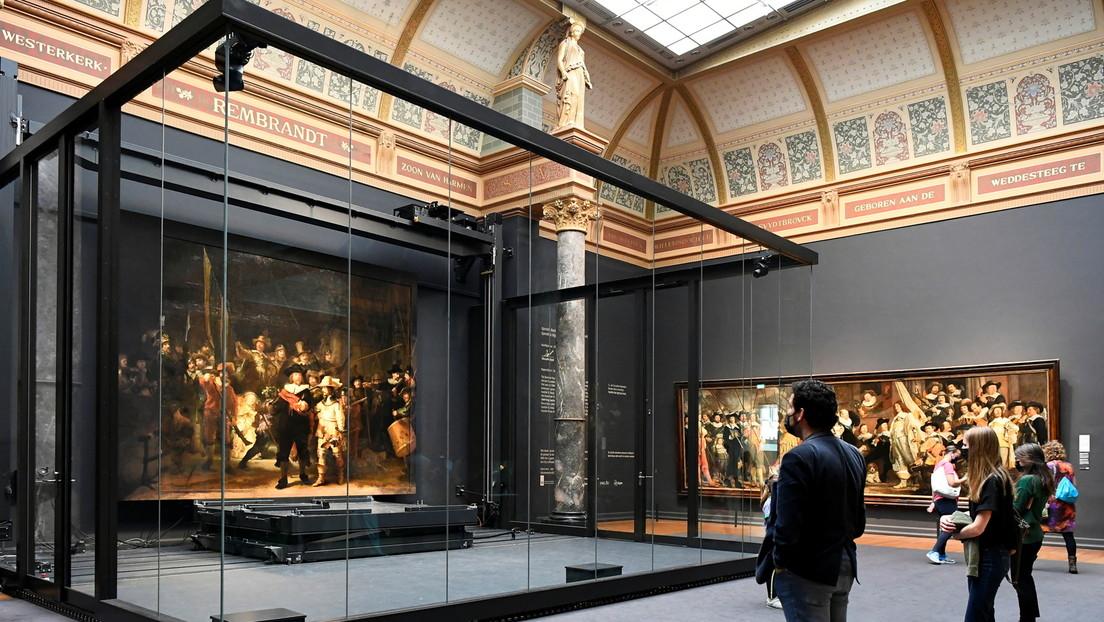 """Rembrandts """"Nachtwache"""" für drei Monate vollständig zu sehen"""