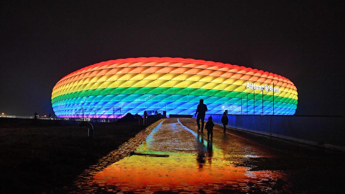 Münchner Regenbogen-Gate: Doppelmoral oder spätrömische Dekadenz?