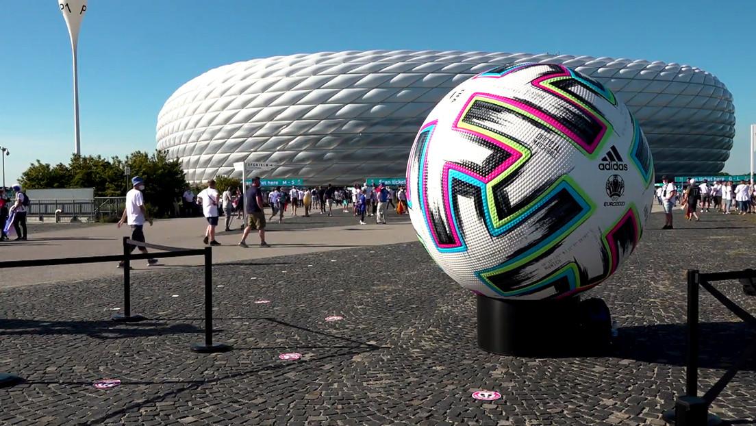 UEFA untersagt Regenbogen-Beleuchtung in München