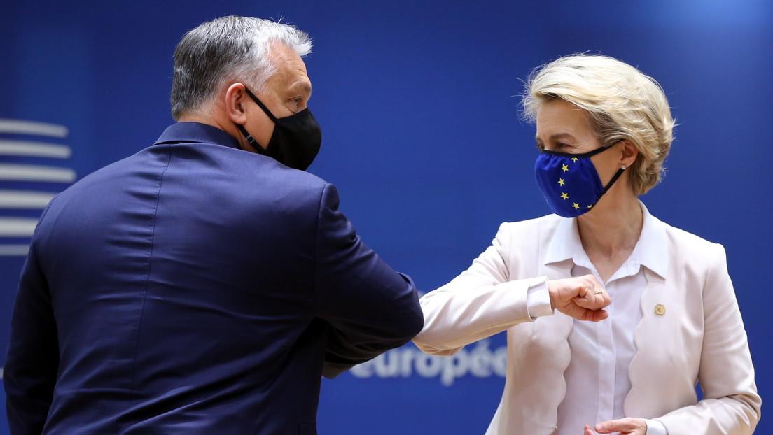 """""""Gehen keine Kompromisse ein"""": Von der Leyen kritisiert Ungarns LGBT-Gesetz"""