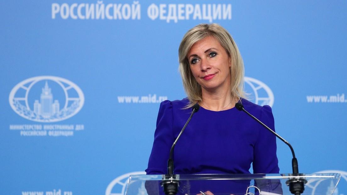 """Sprecherin des russischen Außenministeriums zu Kramp-Karrenbauer: """"Wer hat Ihnen das Recht gegeben?"""""""