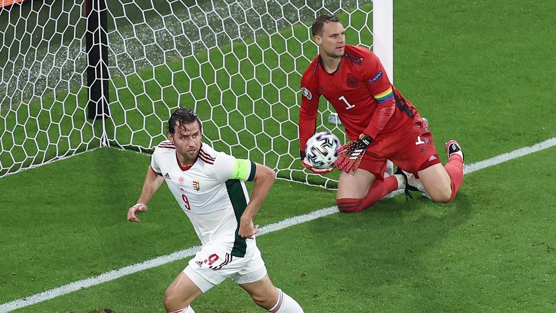 Deutschland spielt 2:2 gegen Ungarn – und erreicht mit großer Mühe das Achtelfinale