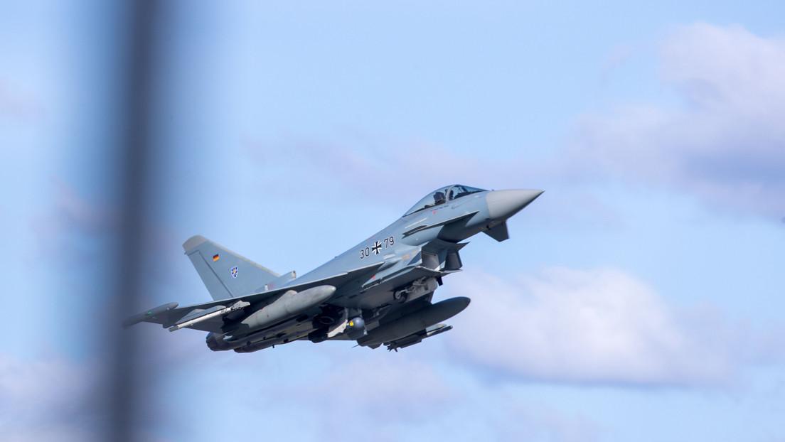 Vollbewaffnete deutsche Eurofighter über Schwarzem Meer – Weitere Eskalation in Sicht?