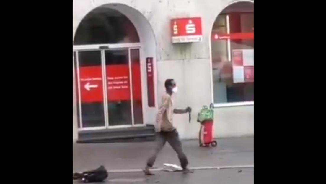 Amoklauf in Würzburg – Mindestens drei Tote und etwa 15 Verletzte