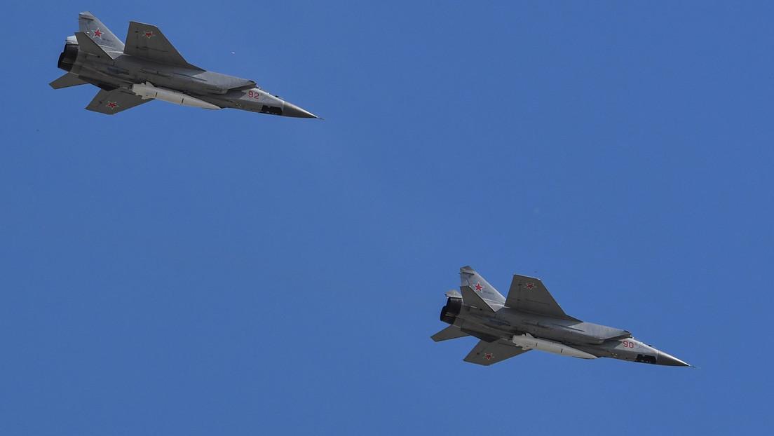 Russland verlegt MiG-31K-Abfangjäger mit Kinschal-Hyperschall-Raketen nach Syrien