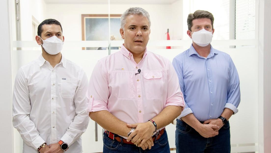 Kolumbien: Unbekannte beschießen Hubschrauber mit Präsident Duque und mehreren Ministern an Bord