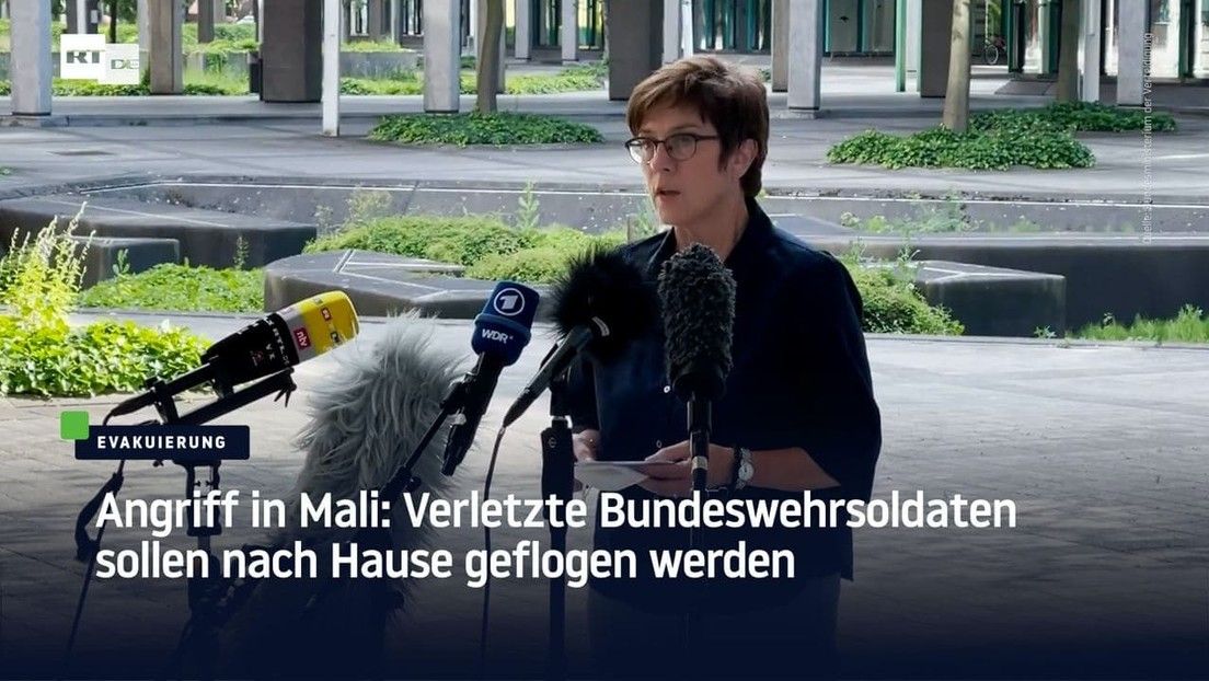 Angriff in Mali: Verletzte Bundeswehrsoldaten sollen nach Hause geflogen werden