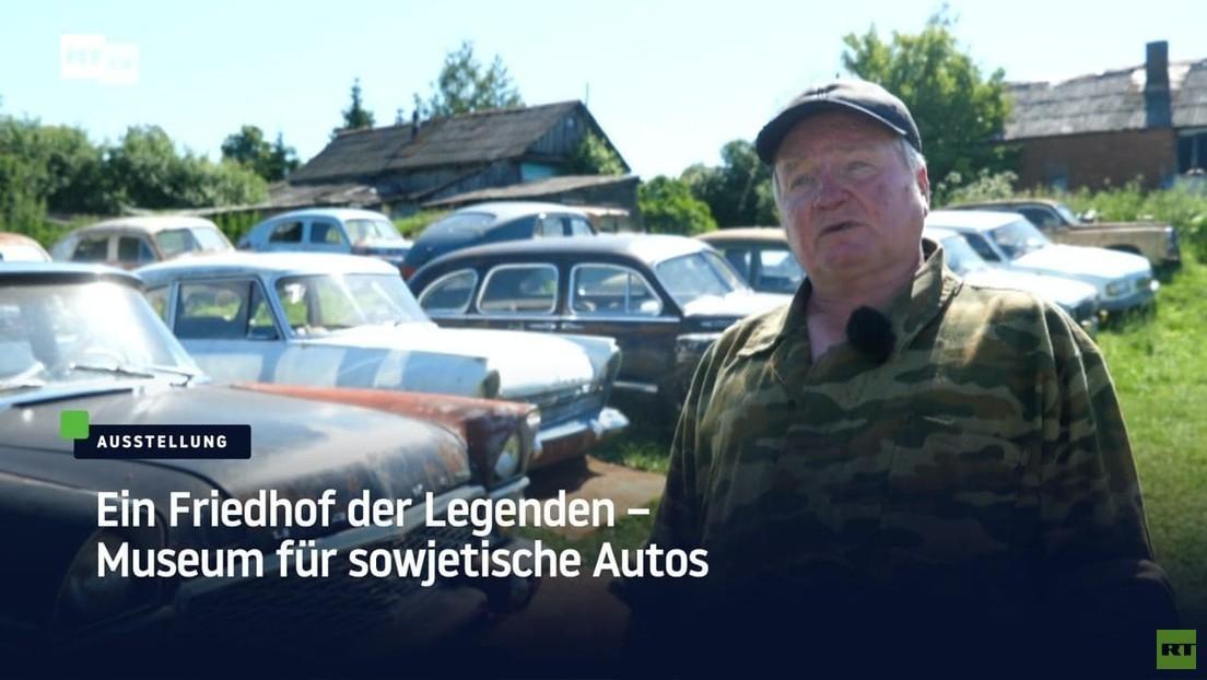 Ein Friedhof der Legenden – Museum für sowjetische Autos
