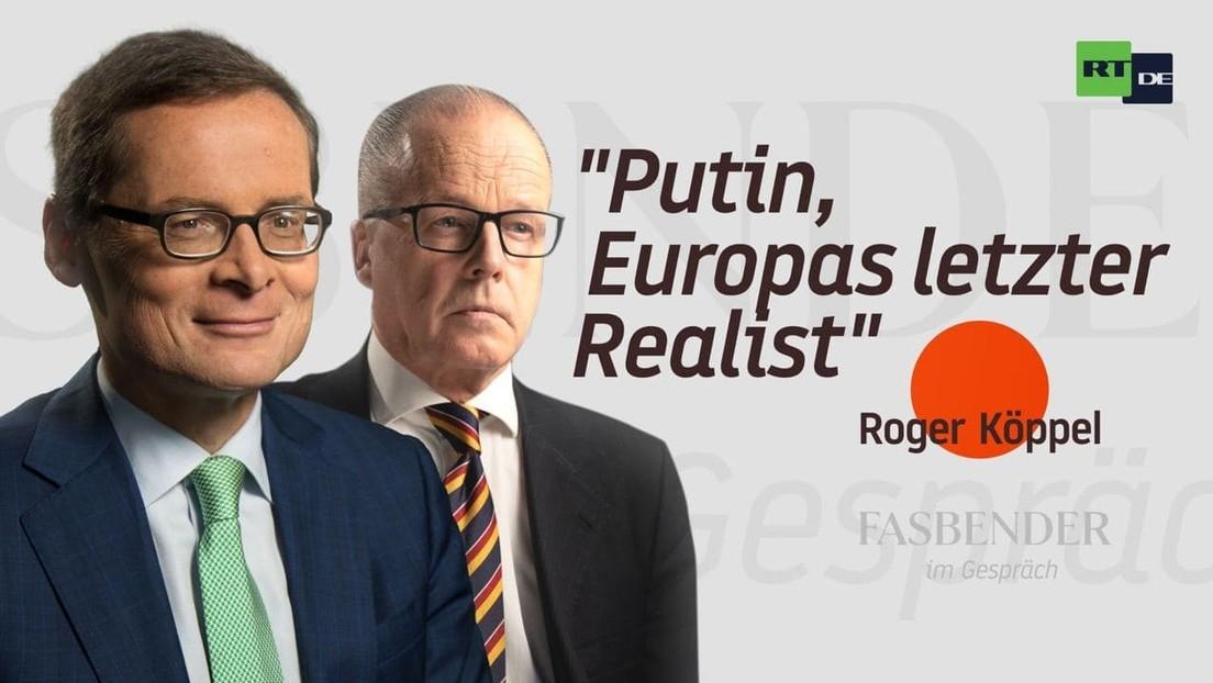 """Fasbender im Gespräch mit Roger Köppel: """"Putin als letzter Realist in Europa"""""""
